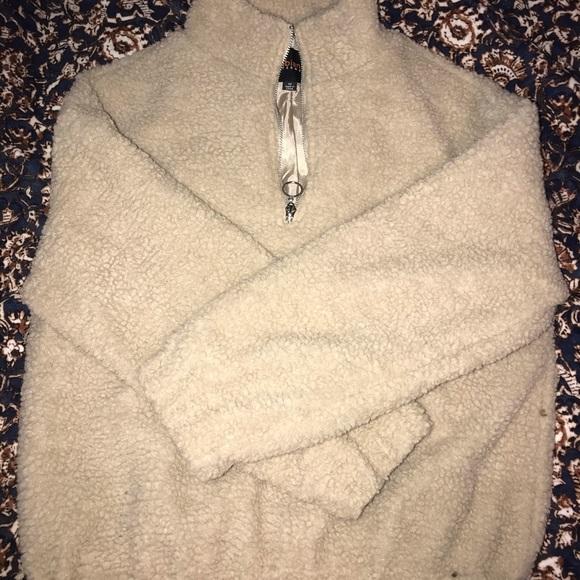 Ambiance Jackets & Blazers - Tan Teddy Coat